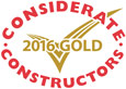 considerate constructors gold award